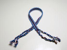 Brown and Blue Friendship Bracelet