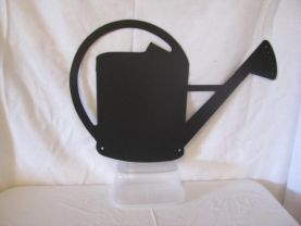 Water Can Metal Silhouette Wall Art