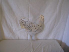Rooster Aluminum Silhouette Metal Wall Art Silhouette