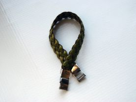 Threaded Bracelet Green and Brown