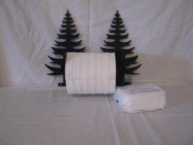 Tree 001 TP Holder Metal Wall Art Silhouette