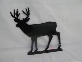 Deer 002 Mailbox Topper Metal Wildlife Wall Art Silhouette