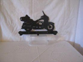 Motorcycle 003 Coat Rack Metal  Silhouette Wall Yard Art