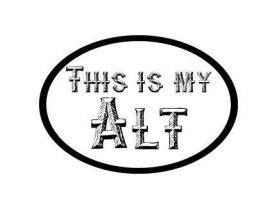 This is My Alt Vinyl Decal Sticker