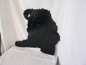 Labradoodle 002 M Metal Wall Yard Art Dog Silhouette