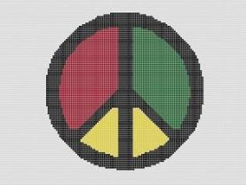 Peace Sign Crochet Pattern Afghan Graph E-mailed.pdf #26