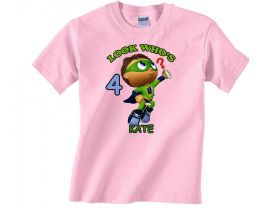 Super Why Personalized Custom Birthday Pink or Blue Shirt in sizes Toddler 2T to Youth XL