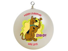 Scooby Doo Personalized Custom Christmas Ornament