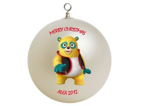 Special Agent Oso Personalized Custom Christmas Ornament