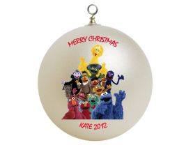 Sesame Street Personalized Custom Christmas Ornament
