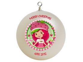 Strawberry Shortcake Personalized Custom Christmas Ornament