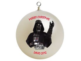 Star Wars Darth Vader Personalized Custom Christmas Ornament