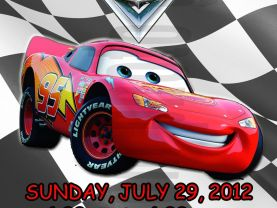 Cars Lightning  Mcqueen Invitation Personalized Birthday Digital File