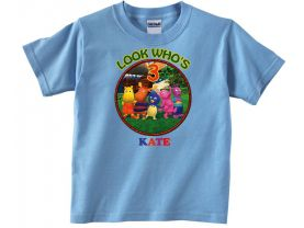 Backyardigans Personalized Custom Birthday Pink or Blue Shirt in sizes Toddler 2T to Youth XL