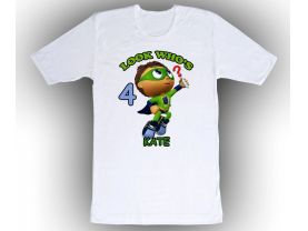 Super Why Personalized Custom Birthday White Shirt in sizes Toddler 2T to Adult XL
