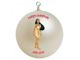 Pocahontas Personalized Custom Christmas Ornament