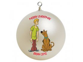 Scooby Doo Personalized Custom Christmas Ornament #4