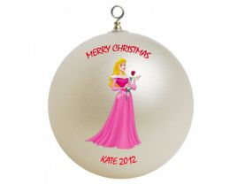 Disney Princess Sleeping Beauty Personalized Custom Christmas Ornament