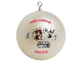 Star Wars Personalized Custom Christmas Ornament