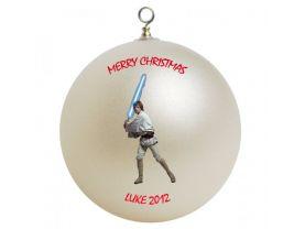 Star Wars Luke Skywalker Personalized Custom Christmas Ornament