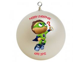 Super Why Personalized Custom Christmas Ornament #2