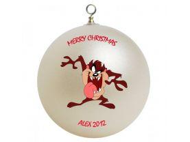 Tasmanian Devil Personalized Custom Christmas Ornament