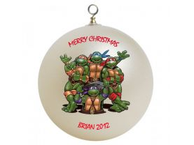 Teenage Mutant Ninja Turtles Personalized Custom Christmas Ornament