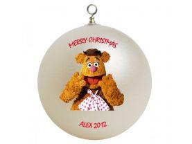 The Muppets Fozzi Bear Personalized Custom Christmas Ornament