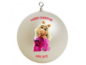 The Muppets Miss Piggy Personalized Custom Christmas Ornament