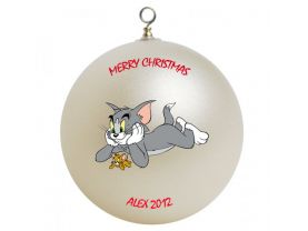 Tom & Jerry Personalized Custom Christmas Ornament