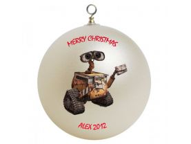 WALL-E Personalized Custom Christmas Ornament