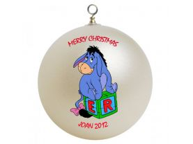 Winnie the Pooh Eeyore Personalized Custom Christmas Ornament