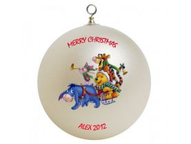 Winnie the Pooh Personalized Custom Christmas Ornament #1