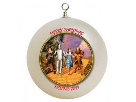 Wizard of Oz Personalized Custom Christmas Ornament