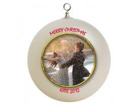 Zac Efron & Vanessa Hudgens Personalized Custom Christmas Ornament