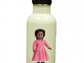 American Girl Addy Personalized Custom Water Bottle