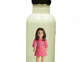 American Girl Chrissa Personalized Custom Water Bottle