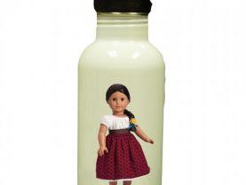 American Girl Josefina Personalized Custom Water Bottle