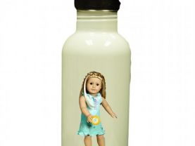 American Girl Kailey Personalized Custom Water Bottle