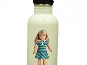American Girl Lanie Personalized Custom Water Bottle