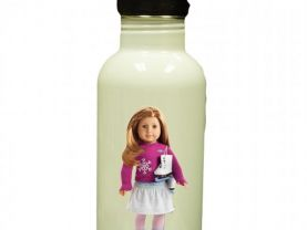 American Girl Mia Personalized Custom Water Bottle