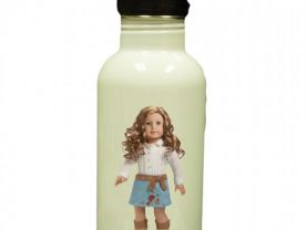 American Girl Nicki Personalized Custom Water Bottle