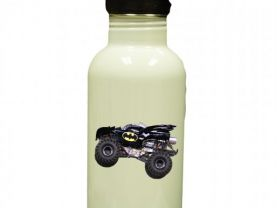 Batman Monster Truck Personalized Custom Water Bottle