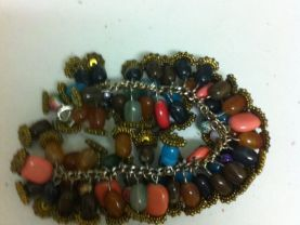 Vintage bead bracelet 70&bdquo;s