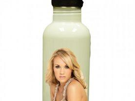 Carrie Underwood Personalized Custom Water Bottle