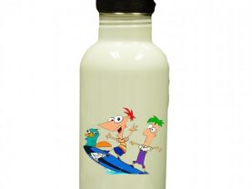 Phineas & Ferb Personalized Custom Water Bottle