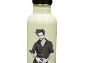Robert Pattinson Personalized Custom Water Bottle