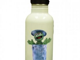 Sesame Street Oscar the Grouch Personalized Custom Water Bottle