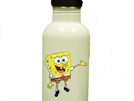 Spongebob Personalized Custom Water Bottle
