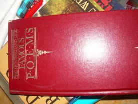 BOOK 101 FAMOUS POEMS hardcover used